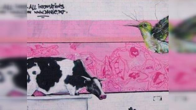 Grafiteros de todo el mundo, uníos... en San Petersburgo
