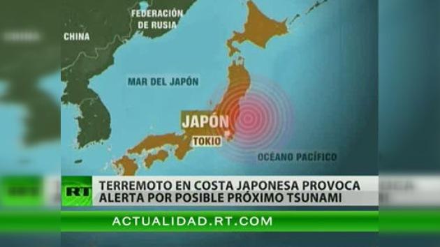 Un terremoto de 7,2 grados Richter sacude las costas de Japón