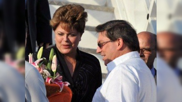 Cuba recibe a Dilma Rousseff entre los ecos de una campaña mediática anticastrista
