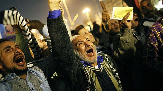 Egipto: La policía usa gases lacrimógenos contra los manifestantes en Alejandría