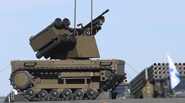 El Ejército ruso 'reclutará' robots de combate dentro de cuatro años