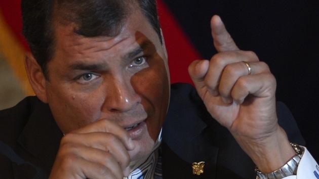 """Correa sobre el caso Snowden: """"El orden mundial no sólo es injusto, es inmoral"""""""