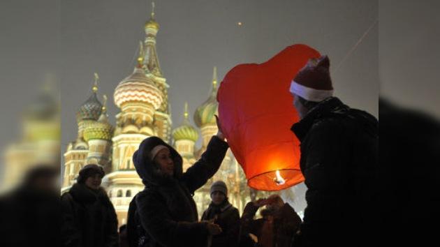Más de 50.000 personas celebraron el Año Nuevo en la Plaza Roja