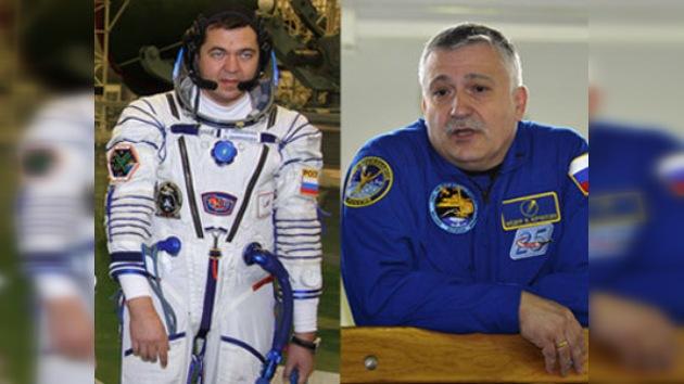 Los cosmonautas Yurchijin y Skrípochka realizarán una caminata espacial
