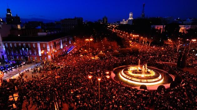 Manifestaciones multitudinarias contra los recortes recorren toda España