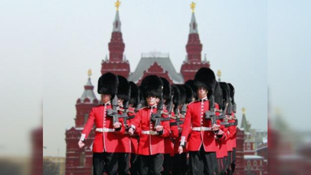 Los soldados británicos marcharán en la Plaza Roja el 9 de mayo