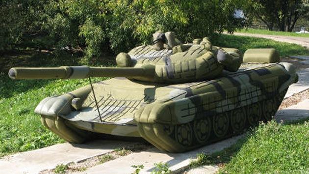 Un escenario al estilo Hollywood, nuevo campo de entrenamiento de tropas rusos