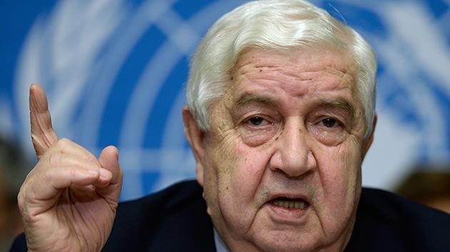 Siria renuncia a negociar con la oposición tras la dura crítica de Kerry a Al Assad
