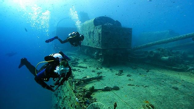 Hallan restos de cinco buques de guerra en el Mar Báltico