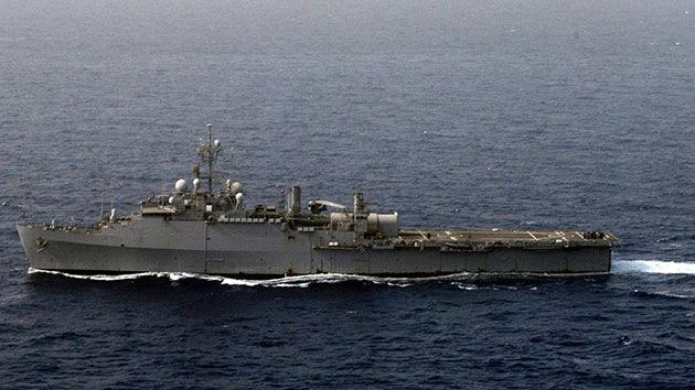 La Marina de EE.UU., satisfecha con resultados de las pruebas de un arma láser
