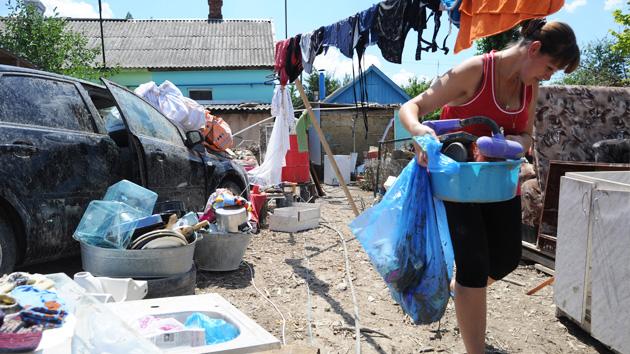 Krymsk, entre el pánico y la lucha por recuperarse tras las inundaciones - RT en Español - Noticias internacionales