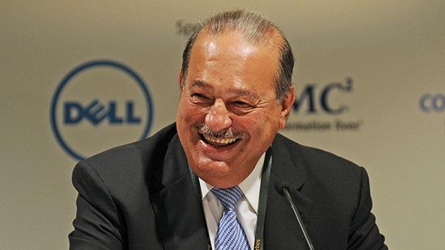 Mapamundi: Los 127 países que tienen un PIB inferior a la fortuna de Carlos Slim