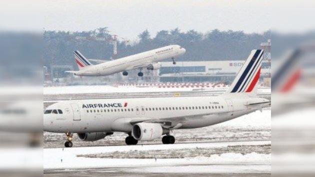 Una huelga en Air France deja a decenas de aviones en tierra