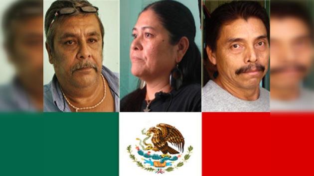 AI reclama a México la liberación de tres activistas en huelga de hambre