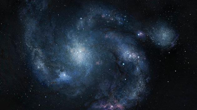 Encuentran una galaxia en espiral que no debería existir