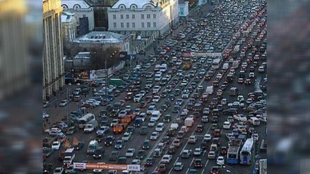 Moscú quiere 'ahogar' los problemas de aparcamiento