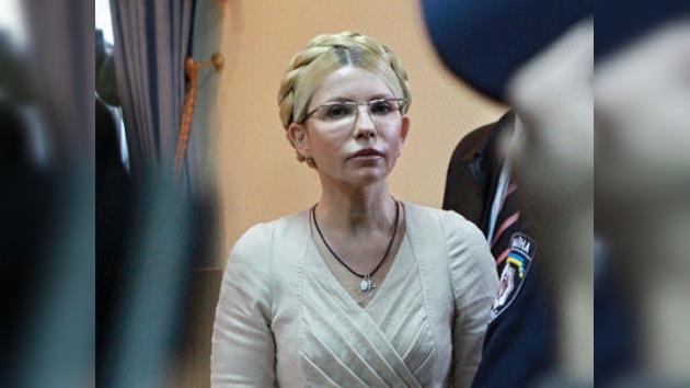 La ex primera ministra de Ucrania recurre su condena a 7 años de prisión