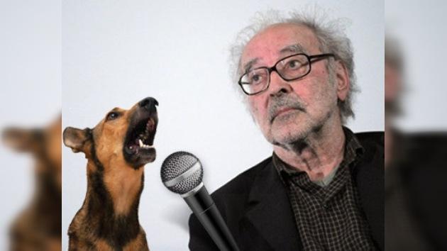 Godard planea rodar una película con un perro que habla