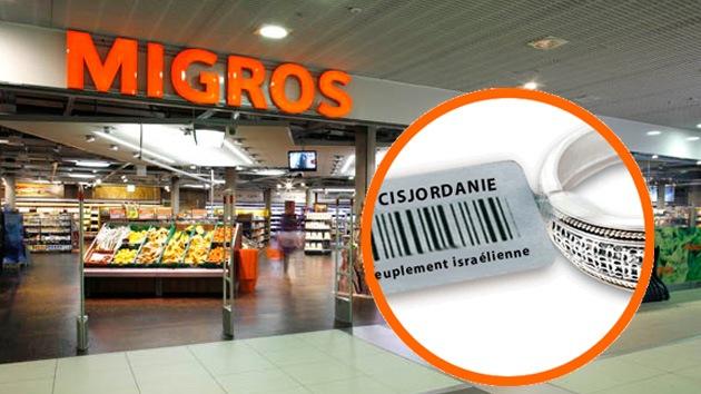Supermercados suizos marcarán lo 'ocupado por Israel'