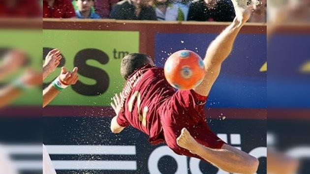 Rusia perdió en la semifinal del torneo de fútbol de playa