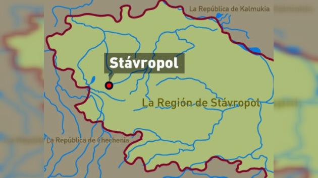 """Cuatro muertos y veinte heridos en una """"potente explosión"""" en Stávropol"""