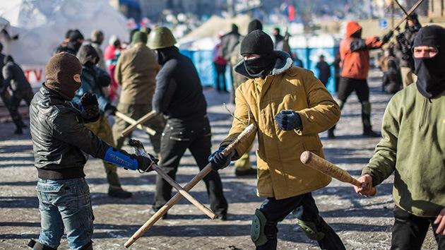 La ultraderecha que ayudó a derrocar al Gobierno de Ucrania reclamaría parte de Polonia