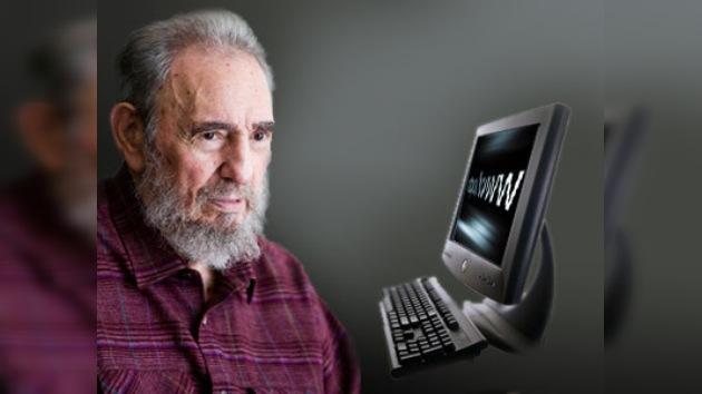 Fidel Castro también es adicto a Internet