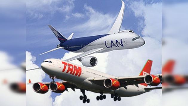 LAN y TAM anuncian su fusión