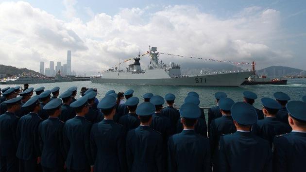 """China se reserva """"el derecho a actuar"""" durante las maniobras de Japón y EE.UU."""