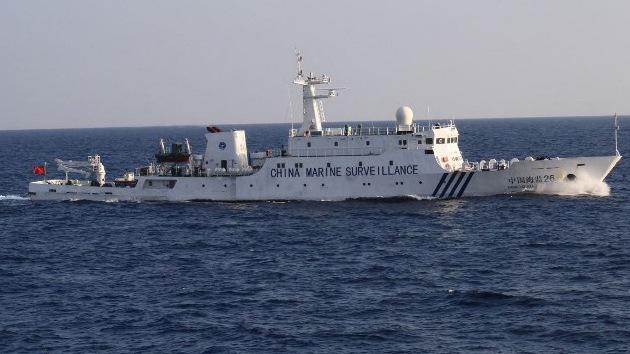 China envía barcos patrulla a las islas en disputa con Japón