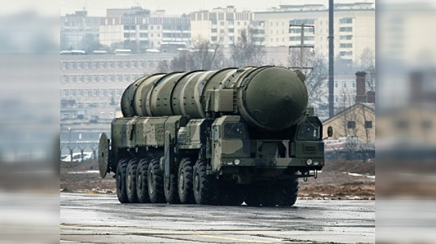 VIDEO: Misiles Tópol en las calles de Moscú