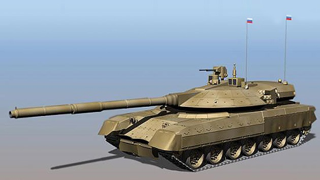 El Ejército ruso dispondrá en 2015 de los revolucionarios tanques Armata