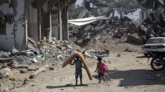 VIDEO: Soldados israelíes atacan con gases a niños palestinos