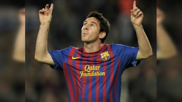 Lionel Messi es de momento el máximo goleador internacional del año