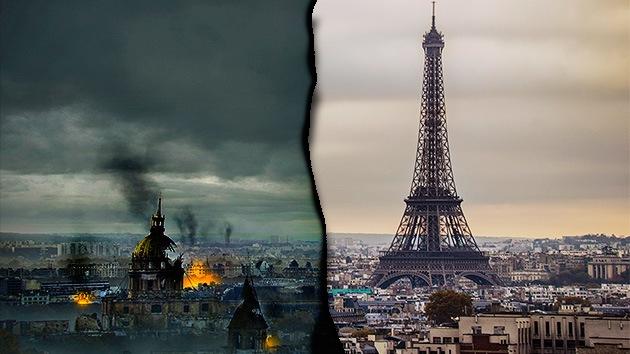 Así sería Europa después del apocalipsis