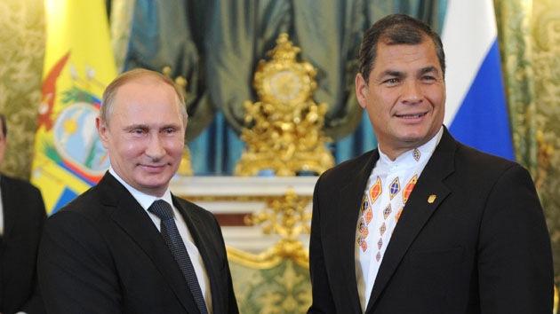 Rusia invertirá miles de millones de dólares en Ecuador
