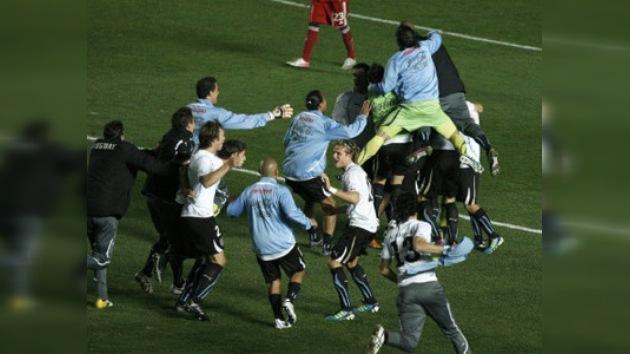 Uruguay es el segundo semifinalista de la Copa América tras derrotar a Argentina