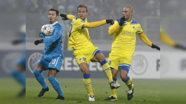 Champions League: Zenit iguala con el APOEL y definirá el pase a octavos con el Oporto