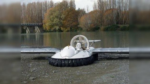 ¡Aproveche y compre su lancha anfibia voladora!