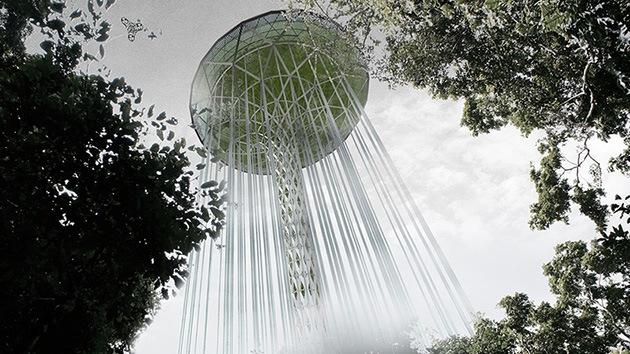 Imágenes: Diseñan un rascacielos 'guardián de la selva' que podría salvar la Amazonia