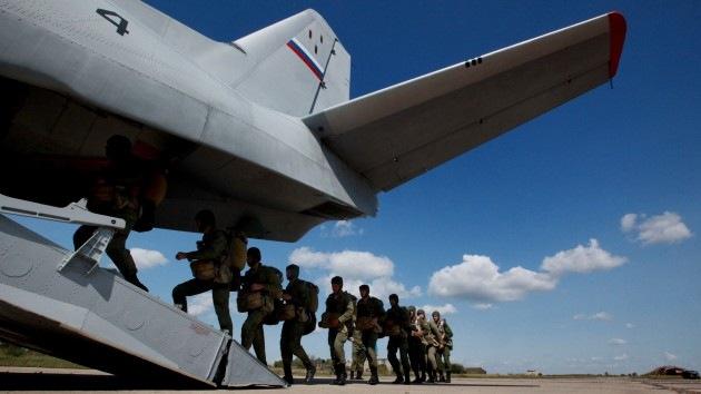Tropas Aerotransportadas se concentran en Extremo Oriente de Rusia para un simulacro