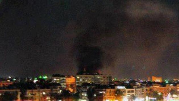 Dos explosiones en la capital siria