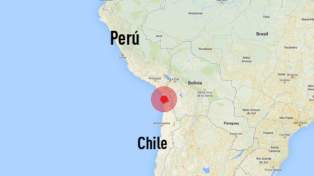 Sismo de magnitud 5,4 sacude el norte de Chile