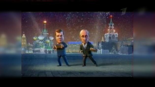 Mandatarios rusos sacan el titular del año en la lengua jerga de Internet