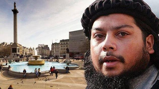 Un rebelde del Estado Islámico amenaza con ejecuciones en la plaza de Trafalgar