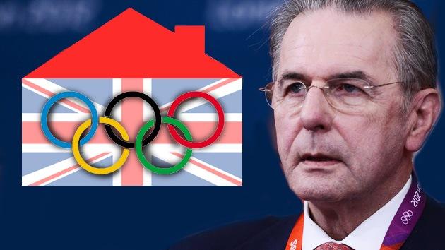 Londres 2012: el discurso inaugural del presidente del COI indigna a la derecha griega