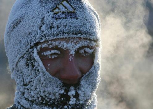 En Siberia se celebró 'la carrera más fría del mundo'