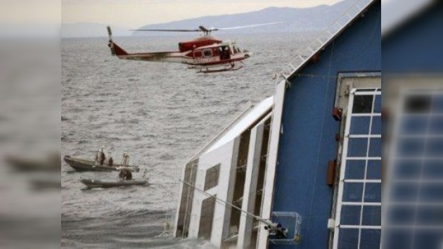 Costa Concordia: encallado por darle un gusto al maître