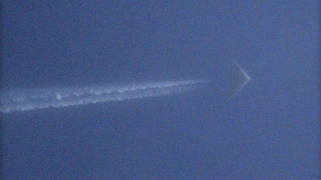 Toman en Kansas una nueva foto del avión misterioso de EE.UU.