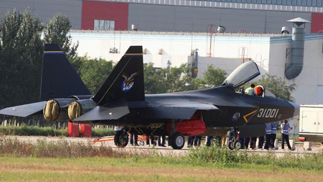 China desarrolla un nuevo 'caza invisible'